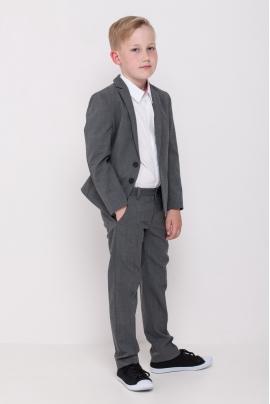 Schoolchildren jacket, grey