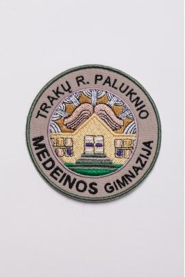 Trakų raj. Paluknio Medeinos gimnazijos emblema