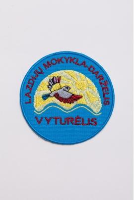 "Lazdijų mokyklos - darželio ""Vyturėlis"" emblema"