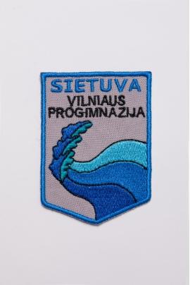 """Vilniaus """"Sietuvos"""" progimnazijos emblema"""