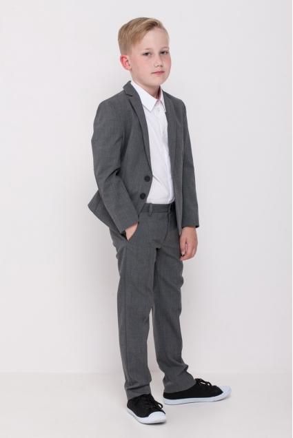 Пиджак для учеников начальной школы, серый