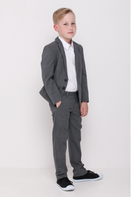 Schoolchildren jacket, grey