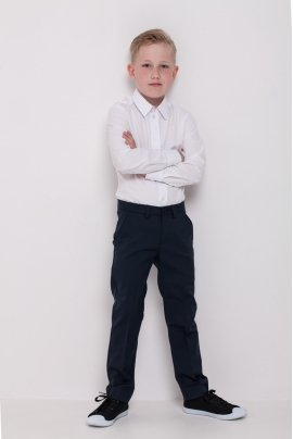 Boys pants, navy