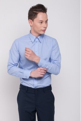 Men's shirt, light blue