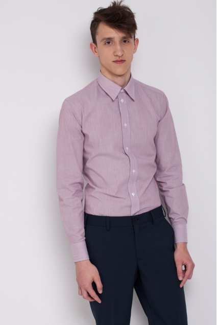 Men's shirt, cherry