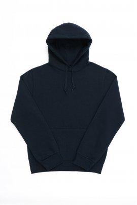 Mėlynas džemperis su gobtuvu