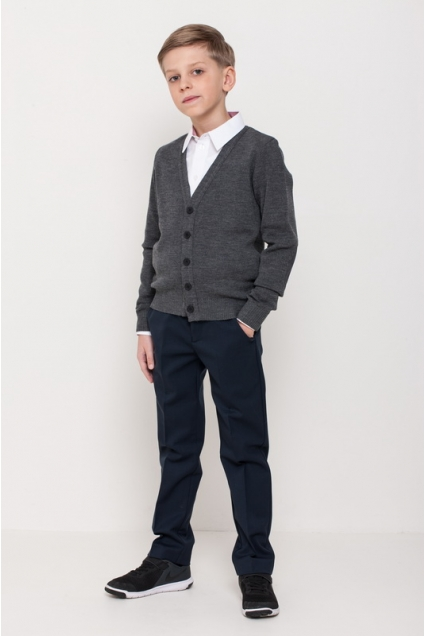 Boys sweater, grey