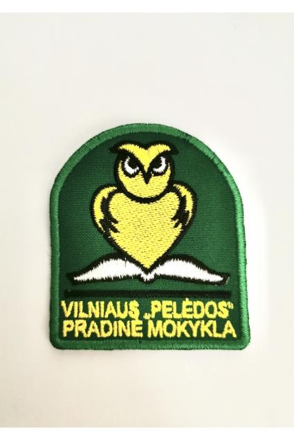 """Vilniaus """"Pelėdos"""" pradinės mokyklos emblema"""