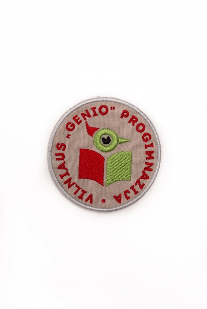 Vilniaus Genio progimnazijos emblema