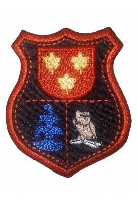 """Lentvario """"Versmės"""" gimnazijos emblema"""