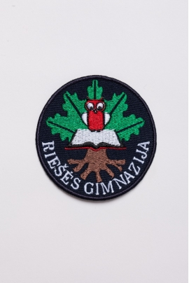 Riešės gimnazijos emblema