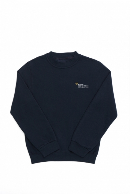 Kauno J. Dobkevičiaus progimnazijos džemperis su vienpusiu siuvinėjimu pullover