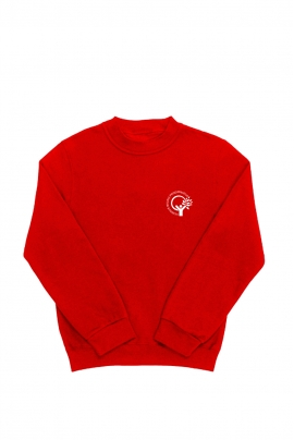 Vilniaus Balsių  progimnazijos džemperis su maža emblema