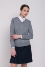 Women sweater, thin, grey
