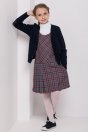 Girls sweater, navy