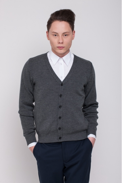 Men's sweater, grey