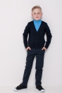 Boys polo neck, light blue