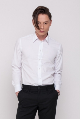 Men's shirt, white